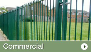 Commercial Fencing in Kent