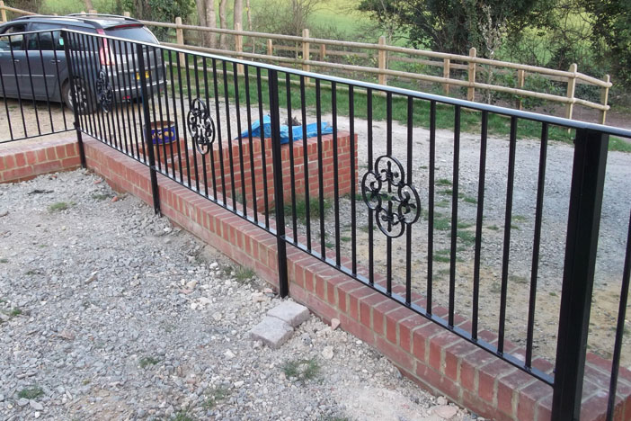 Metal Railing from Meopham Fencing