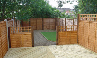 Panel Fencing in Kent