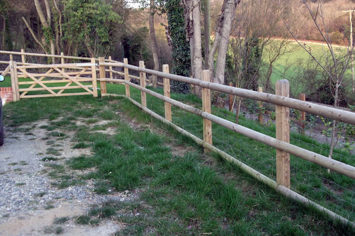 Post and Rail Fencing from Meopham Fencing