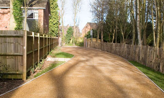 Supply Only Chestnut Fencing in Kent