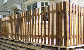 Supply Only Picket Fencing in Kent