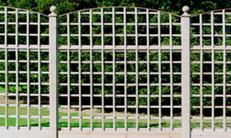 Supply Only Square Trellis Fencing in Kent