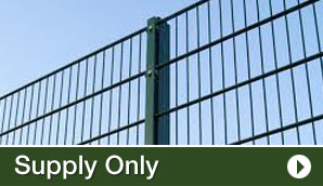 Supply Only Fencing in Kent